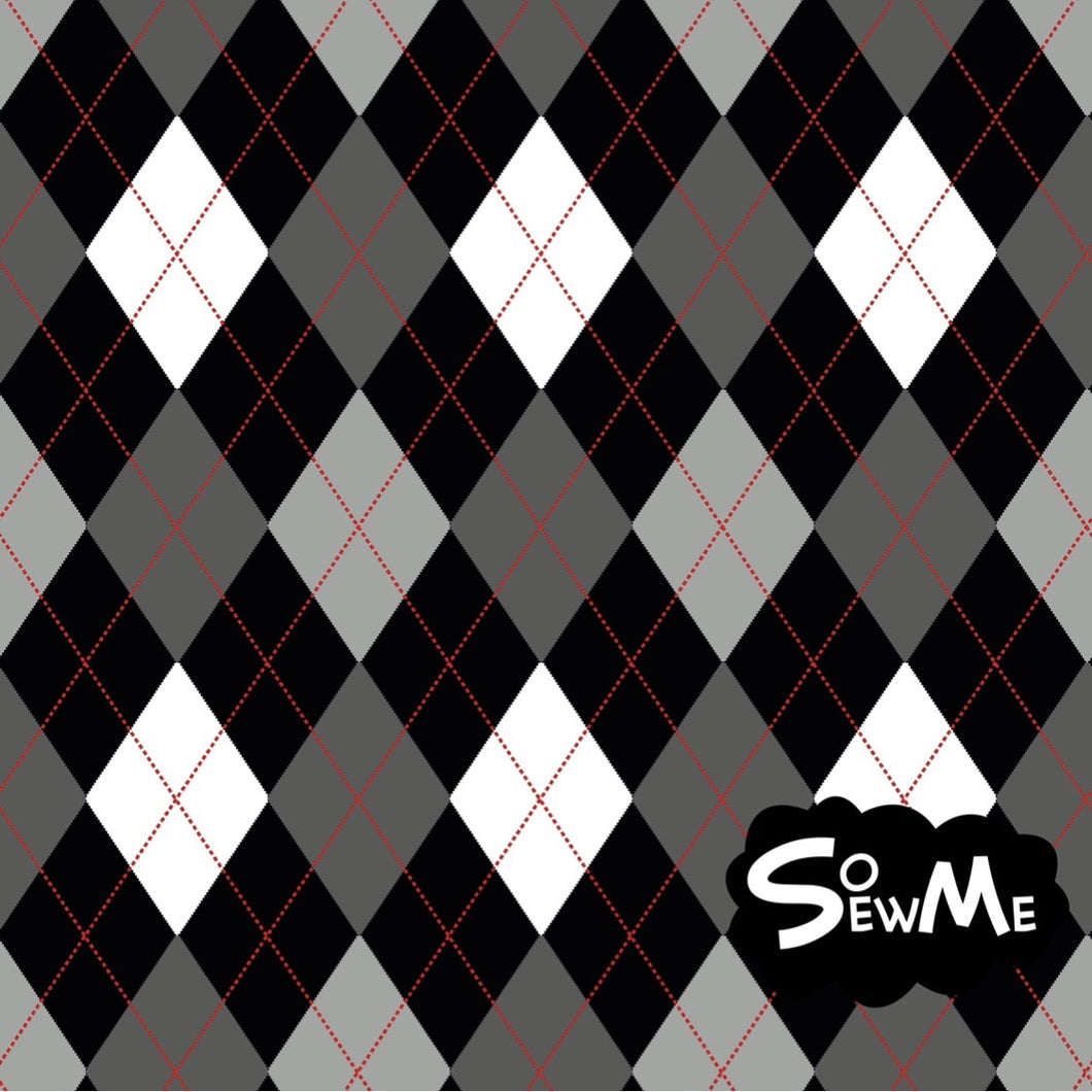 Argyle Black/Grey Trikå/Jersey