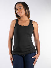 Top, Twin Set tank plus 3/4 sleeve jacket