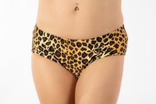Bikini, with scrunch-back, Cheetah