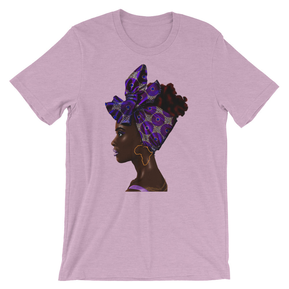 Purple Head Wrapped T-Shirt