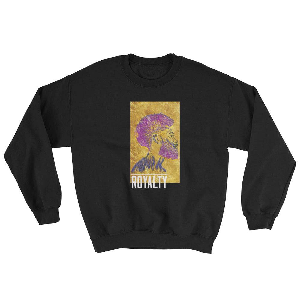Purple & Gold Sweatshirt