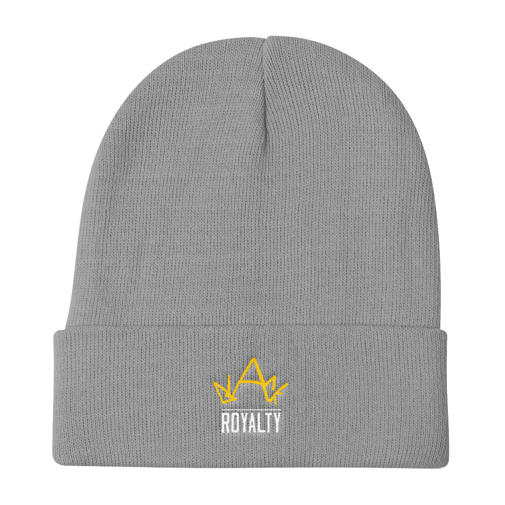 Blck Royalty Knit Beanie