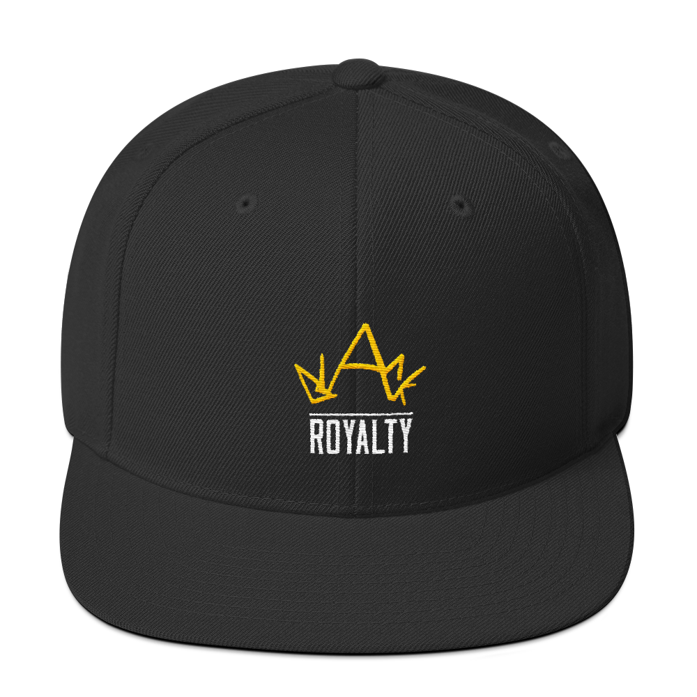 Blck Royalty Snapback