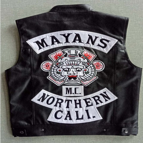 Mayan Mc Leather Vest