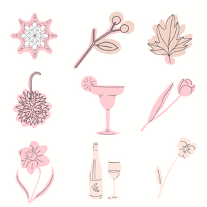 Pink Eco Stickers