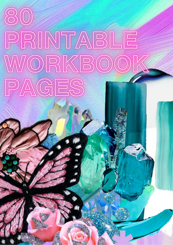 Printable eBook 2021 Salon Planner |  PDF download (80 pages)