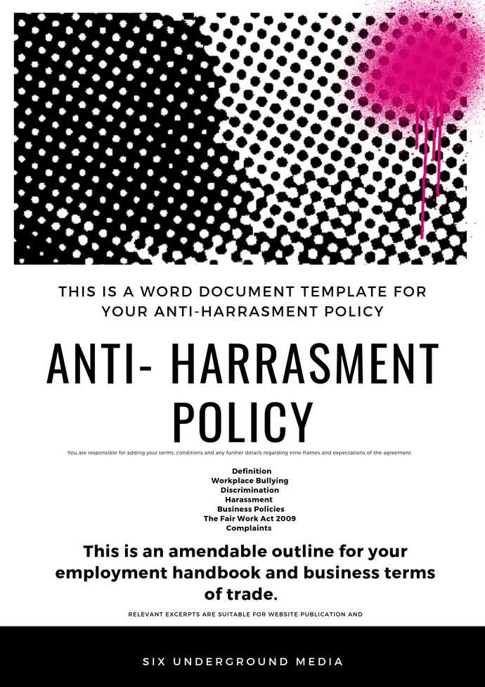 Anti Harassment Policy