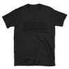 Black On Black Hollow Box Palm & Peak Unisex T Shirt