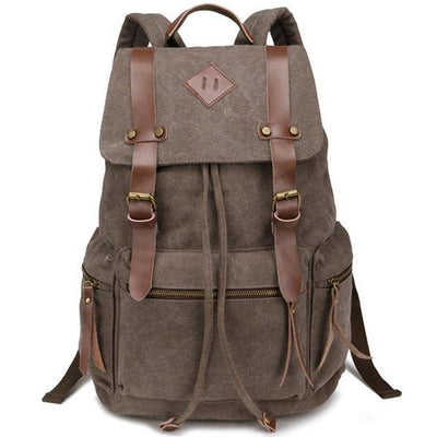 Globetrotter Retro Travel Backpack + 5 Colors
