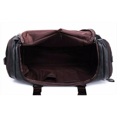 PU Leather Retro Duffel Bag + 2 Colors