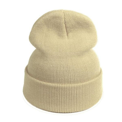 Warm Knitted Travel Beanie + 10 Colors