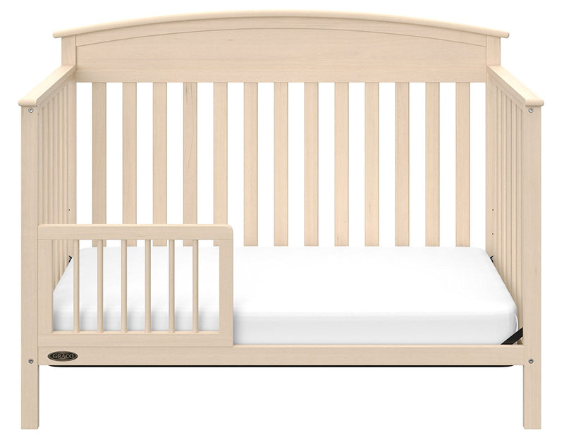 Graco Benton 5-in-1 Convertible Crib, Whitewash - fashionstuff123