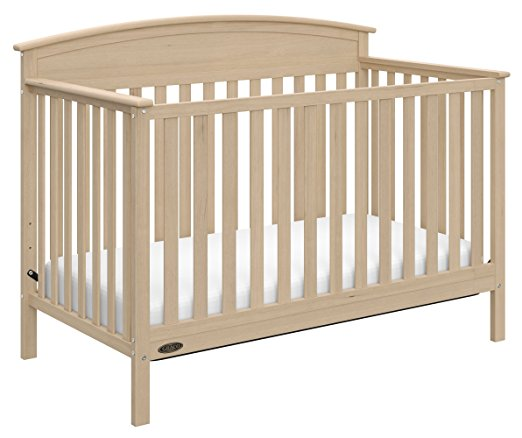 Graco Benton 5-in-1 Convertible Crib, Driftwood - fashionstuff123