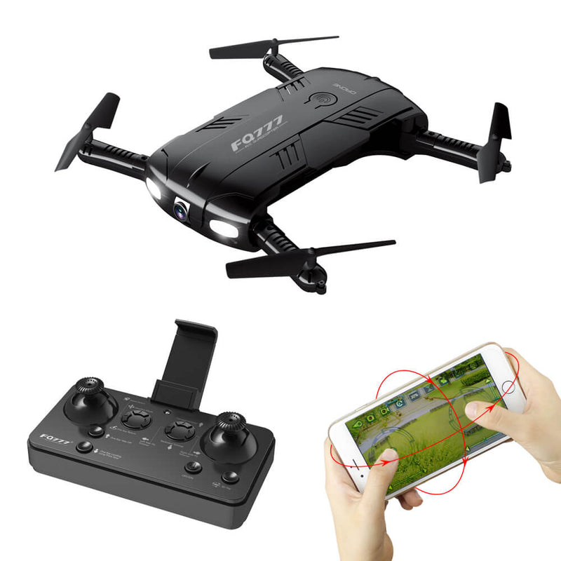 Mini Kids Drone, Camera Live Video Altitude One Key Return 3D Flips - fashionstuff123