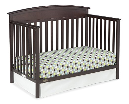 Graco Benton 5-in-1 Convertible Crib, Espresso - fashionstuff123