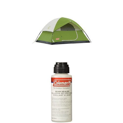 Coleman  4 Person Sundome Tent with Seam Sealer - fashionstuff123