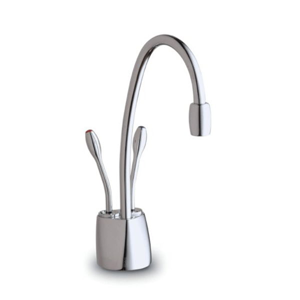 InSinkErator F-HC1100C Indulge Chrome Contemporary Instant Hot and Cold Water Dispenser Faucet - fashionstuff123