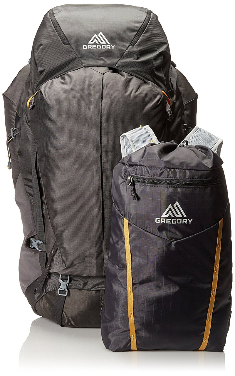 Gregory Baltoro 75 Liter Men's Multi Day Hiking Backpack Climbing Products (Shadow Black) - fashionstuff123