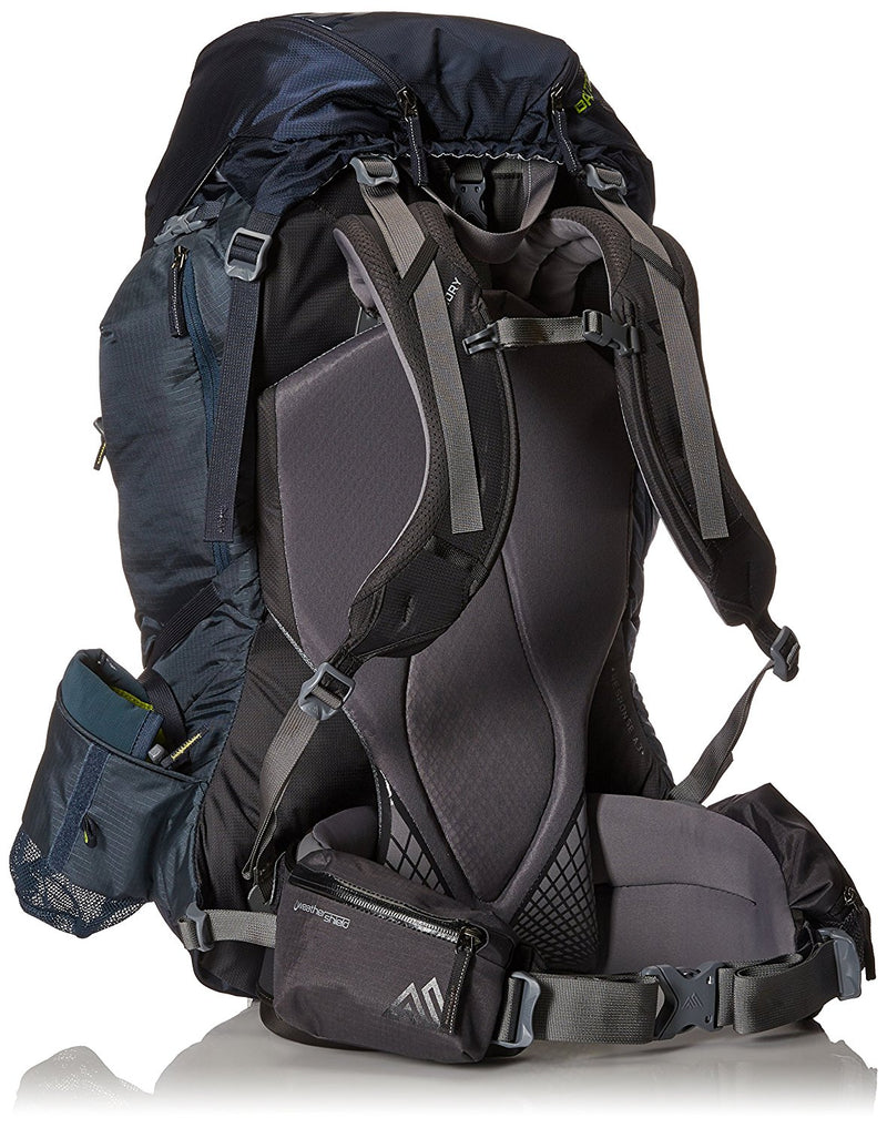 Gregory Baltoro 75 Liter Men's Multi Day Hiking Backpack Climbing Products (Navy Blue) - fashionstuff123