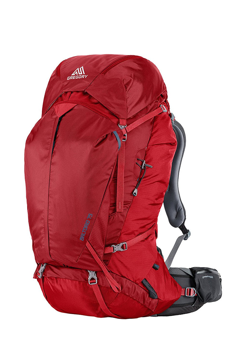 Gregory Baltoro 75 Liter Men's Multi Day Hiking Backpack Climbing Products (Spark Red) - fashionstuff123