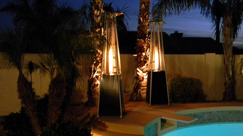AZ Patio Heaters HLDS01-GTHG Quartz Glass Tube Outdoor Patio Heater with Hammered Bronze Finish - fashionstuff123