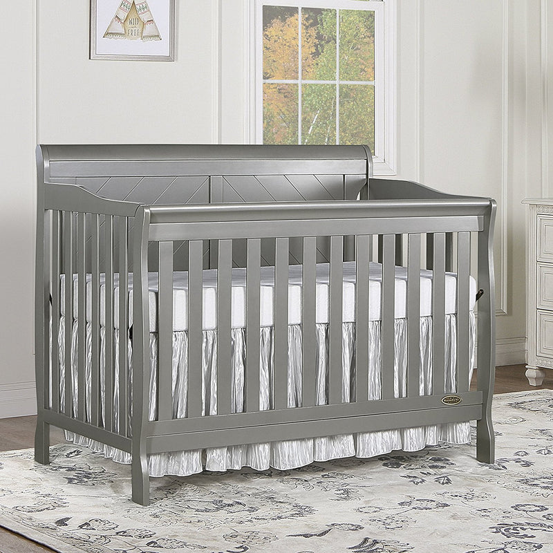 Dream On Me Ashton Full Panel Convertible 5-in-1 Crib - fashionstuff123