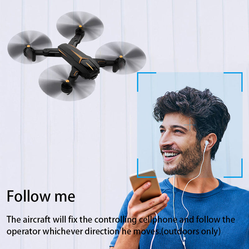 Fairzones 141TY GPS 5G WiFi FPV Wide 2MP HD Camera 15mins Flight Time Foldable RC Drone Quadcopter RTF - fashionstuff123