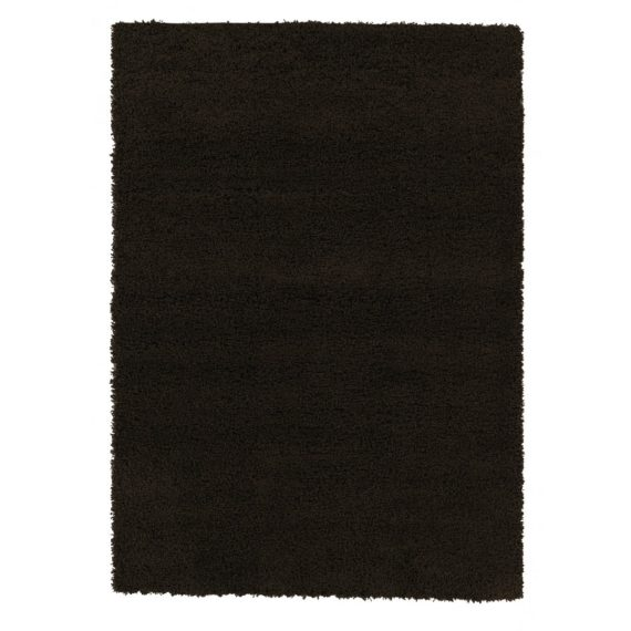 Ottomanson Contemporary Living and Bedroom Soft Shag Area Rug Indoor Rug, Brown - fashionstuff123