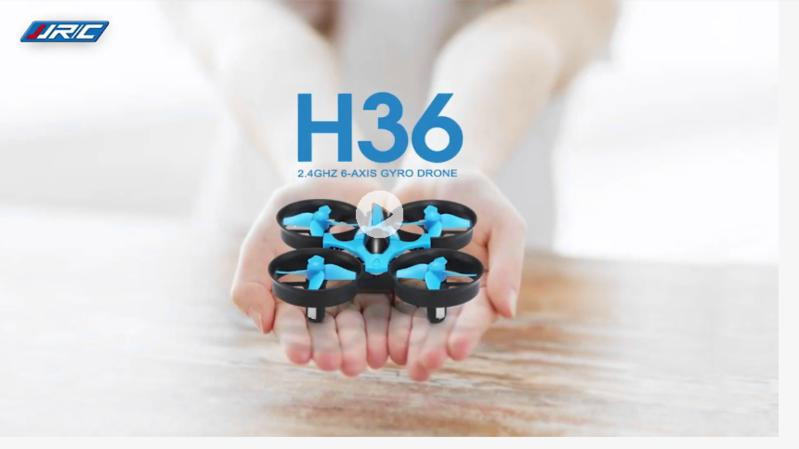JJRC H36 Mini Quadcopter 3D Flip Headless Mode 2.4G 4CH 6-Axis Speed RC Kids Drone RTF - fashionstuff123