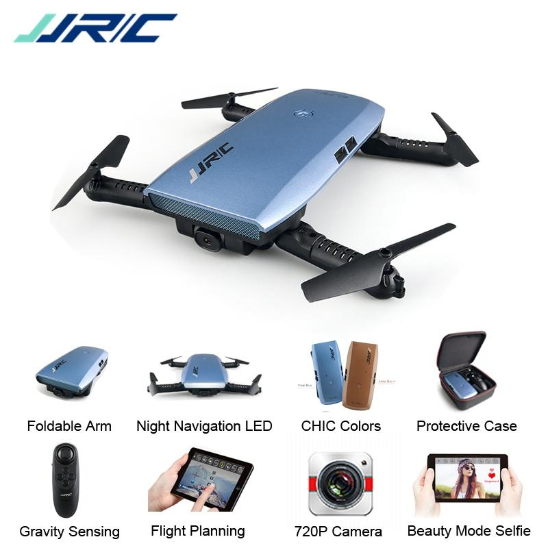JJRC H47 Selfie Plus with HD Camera Upgraded Foldable Arm RC Drone Quadcopter Helicopter Kids Drone - fashionstuff123