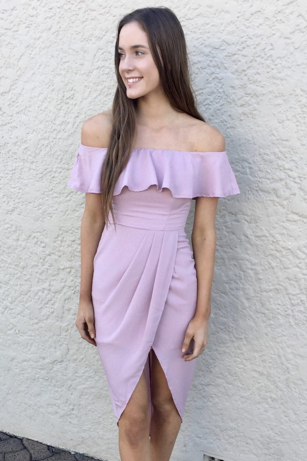 Amara off the Shoulder Dress