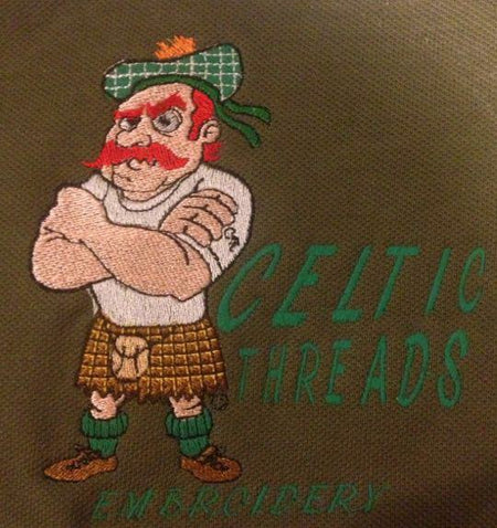 Celtic Threads Embroidery