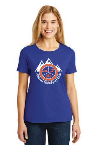 Women's TriBlend AMC tee