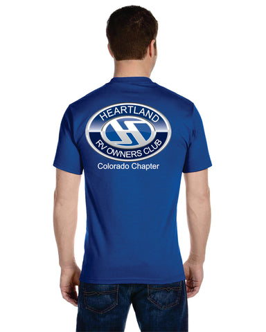 New Heartland owners club logo t-shirts