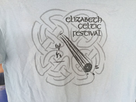 Elizabeth Celtic Festival Heavy Athlete Shirts