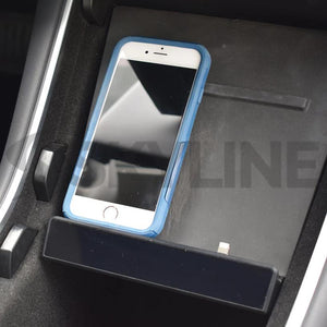 Premium - Model 3 Case Friendly Phone Dock (white or black)
