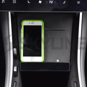 Case Friendly Phone Dock for Model 3 and Model Y (white or black)