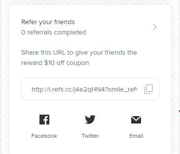 VIP Rewards Refer a Friend