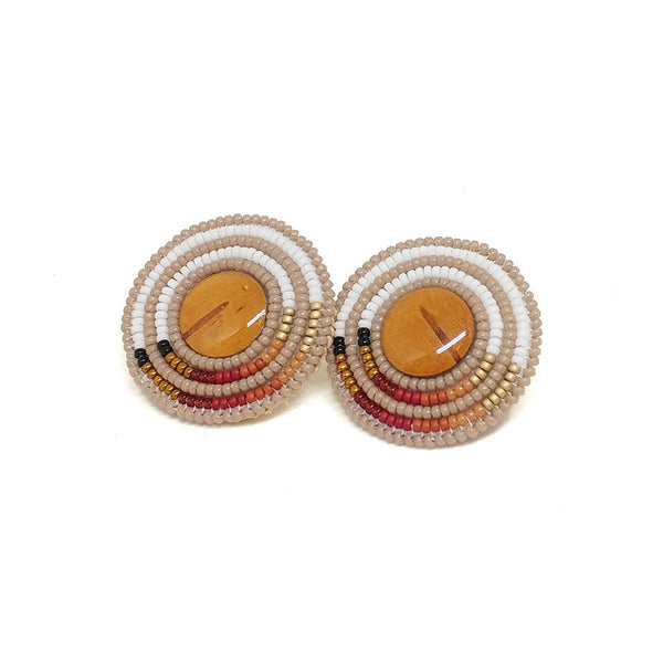 Harvest Birch Statement Earrings