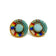 Two-Spirit Pride Stud Earrings