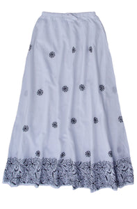 ILA Pure Cotton Hand Embroidered Skirt