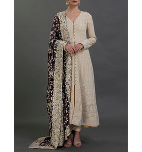 Harini Heavy all over Hand Embroidered Festive Long Kurta, Tunic Dress, Suit set