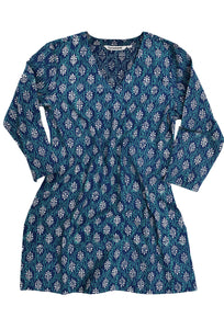 KRITI Block Printed Pure Cotton Tunic