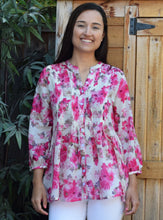 MANALI Printed Soft Cotton Tunic Top: Made to Order/Customizable