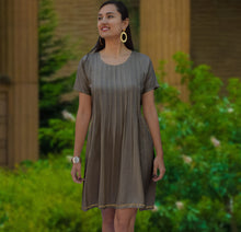 Nidhi Hand Embroidered Summer Dress: Made to Order/Customizable