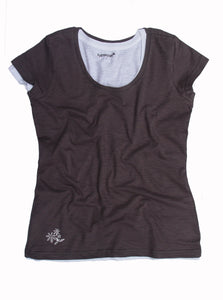 Pure Cotton Ladies Slub Jersey or Regular Jersey T-Shirt, Top