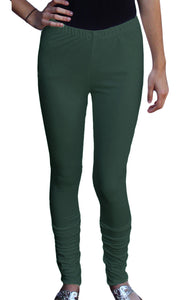 Women's Cotton Spandex Long Leggings (Additional Colors)