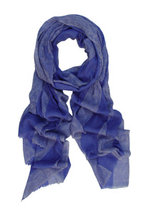 Pure Cashmere Paisley Scarf/Wrap