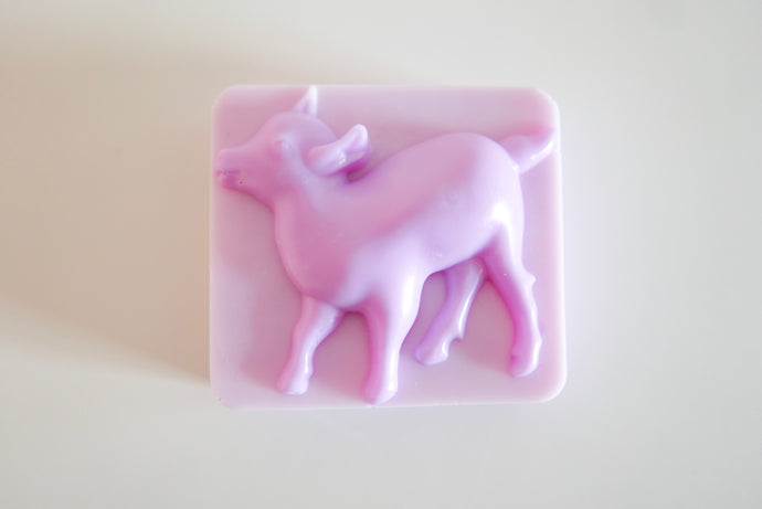 Lavender Goats Milk Soap Large