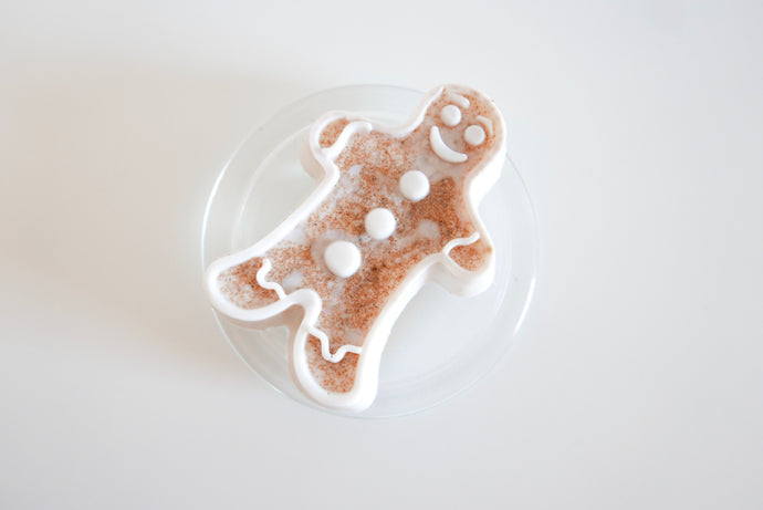Gingerbread Men Goats Milk Soap